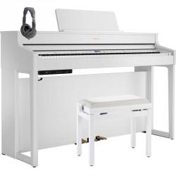 ROLAND -PACK- HP702 WH PIANO DIGITAL BLANCO + BANQUETA Y AURICULARES