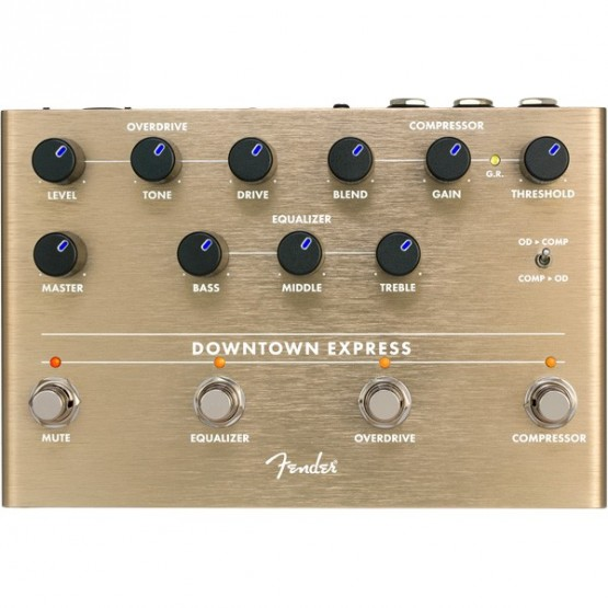 FENDER DOWNTOWN EXPRESS BASS PEDAL MULTIEFECTO