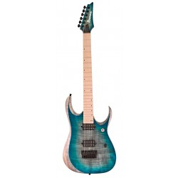 IBANEZ RGD61AL SSB AXION LABEL GUITARRA ELECTRICA STAINED SAPPHIRE BLUE BURST. NOVEDAD