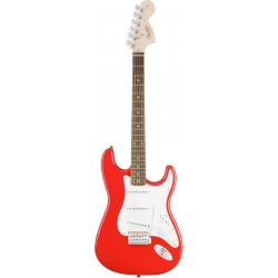 SQUIER AFFINITY STRATOCASTER IL GUITARRA ELECTRICA RACE RED.
