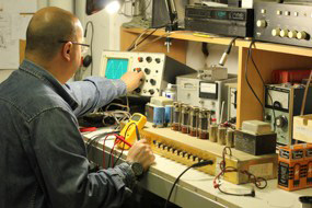 reparacion amplificador