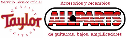 taylor guitarras all parts accesorios y recambios