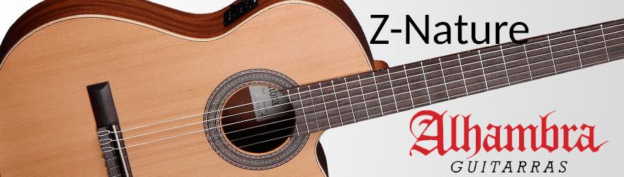 Guitarras españolas Alhambra Z Nature