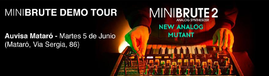 Demostración Arturia MiniBrute 2 5 de junio de 2018