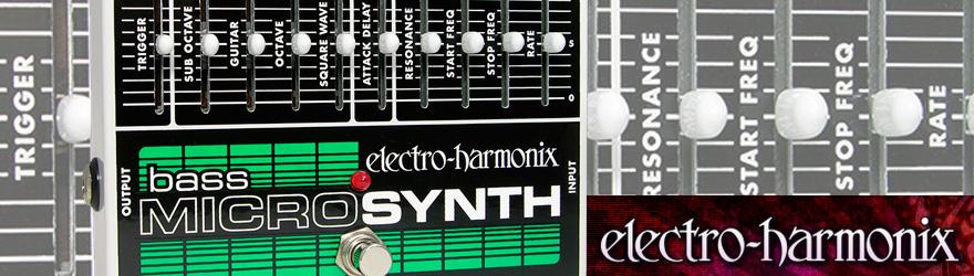 Pedal bajo Electro Harmonix Microsynth Bass