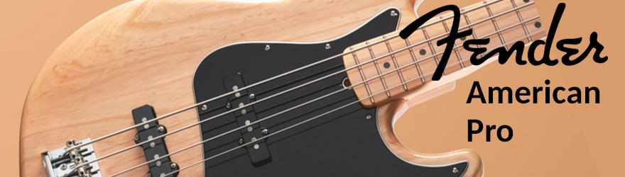 Bajo eléctrico Fender American Pro