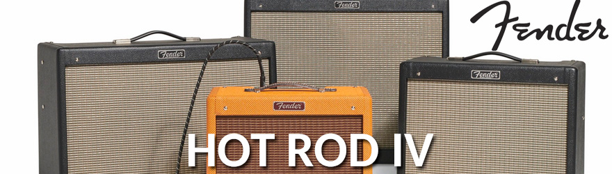 Amplificador guitarra Fender Hot Rod IV
