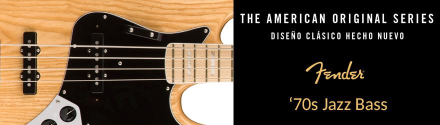 Bajos eléctricos Fender Original Jazz Bass 70