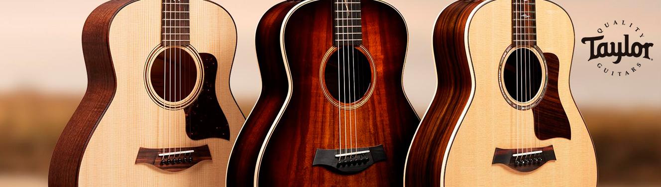Guitarras acústicas Taylor