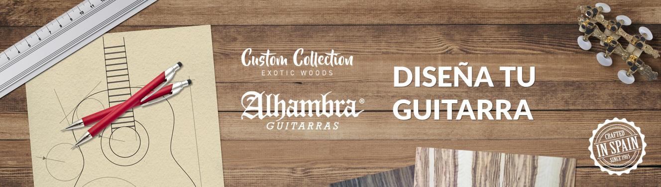 Guitarras Alhambra a medida