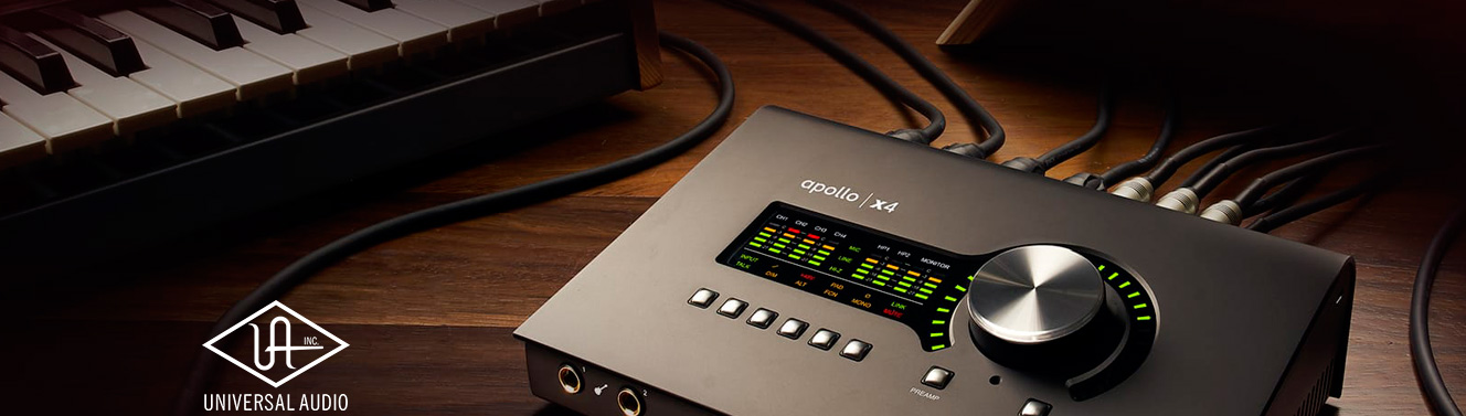 Interfaces de audio Universal Audio Apollo X