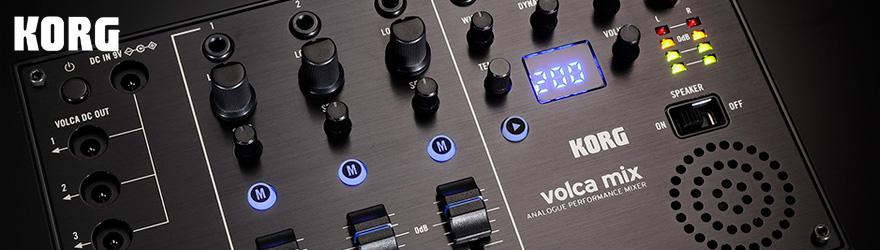 Mesa de mezclas Korg Volca Mix