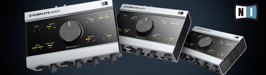 Interfaz audio Native Instruments Komplete Audio 6