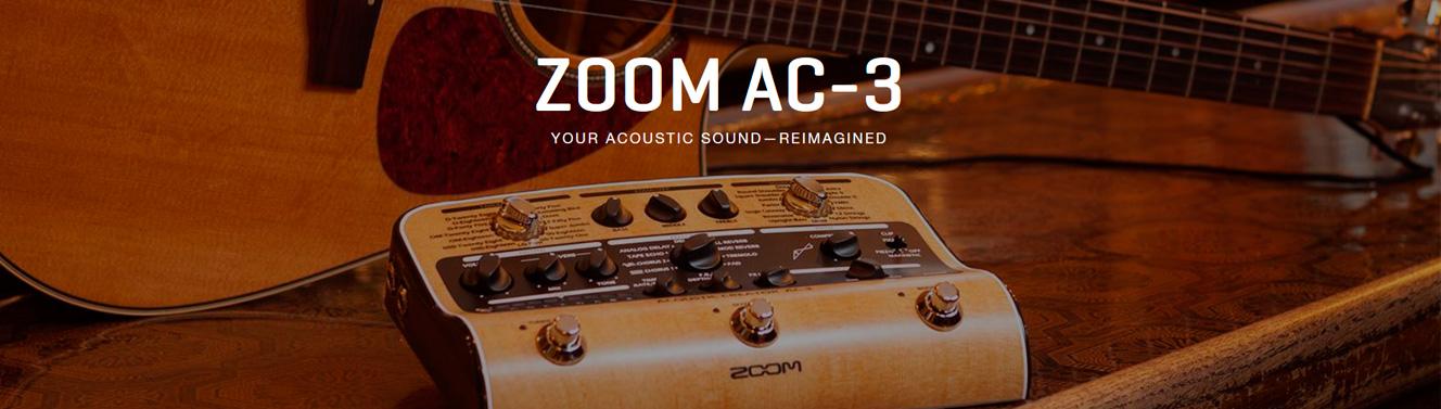 Pedales guitarras acústicas Zoom
