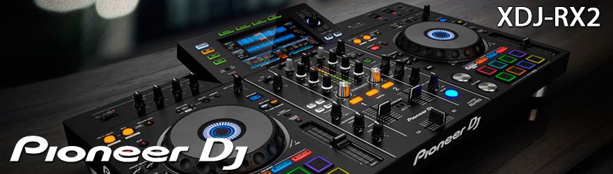 Sistema DJ Pioneer XDJ RX2
