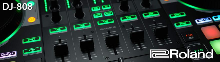 Controlador DJ Roland DJ808