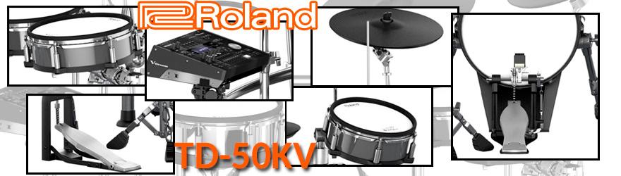 Batería electrónica Roland TD50K