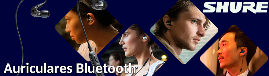 Auriculares Shure Bluetooth