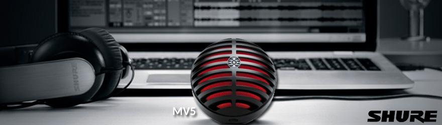 Micrófono Shure MV5