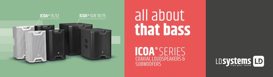 Altavoces LD Systems ICOA