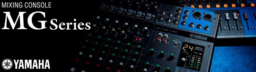 Mesas de mezclas Yamaha MG