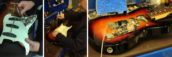 reparacion ajuste guitarras
