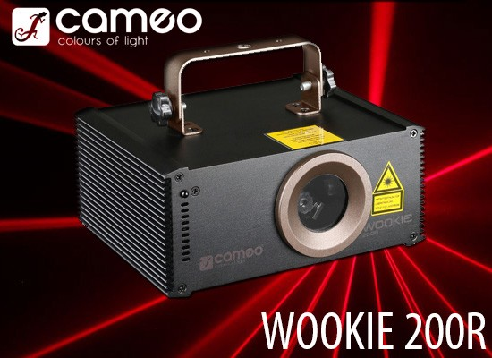 Láser Cameo Wookie 200R