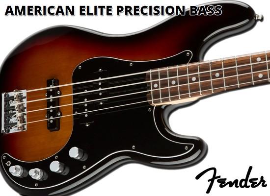 Bajo eléctrico Fender American Elite Precision Bass RW 3TS