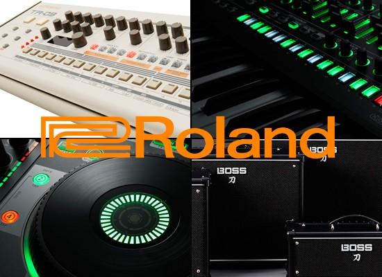 Nuevos productos Roland y Boss con descuento especial