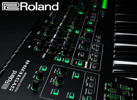 Nuevo sintetizador Roland System 8