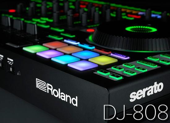 Novedad: Controlador para DJ Roland DJ-808