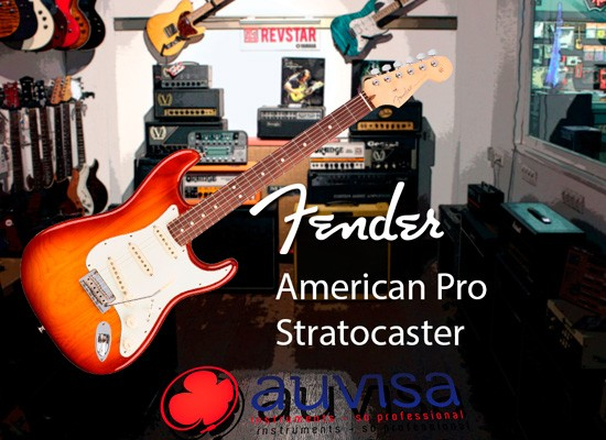 VIDEO: FENDER AMERICAN PRO STRATOCASTER