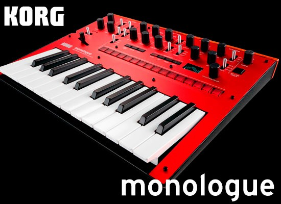 VIDEO: KORG MONOLOGUE