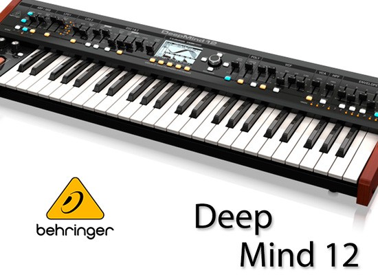 VIDEO: BEHRINGER DEEPMIND 12