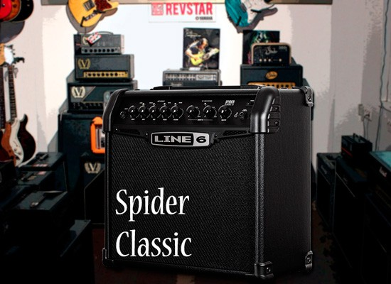 VIDEO: LINE 6 SPIDER CLASSIC