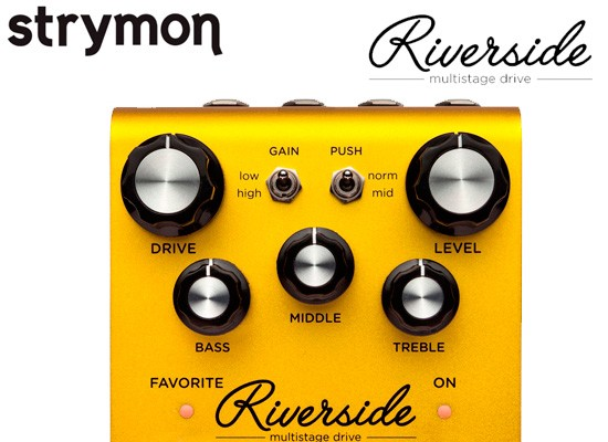 VIDEO: STRYMON RIVERSIDE