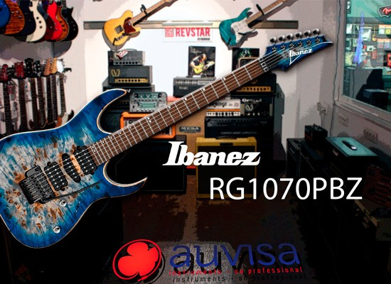 VIDEO: IBANEZ RG1070PBZ