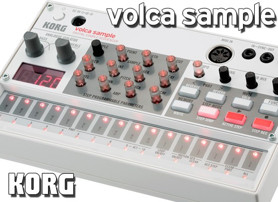 KORG VOLCA SAMPLE