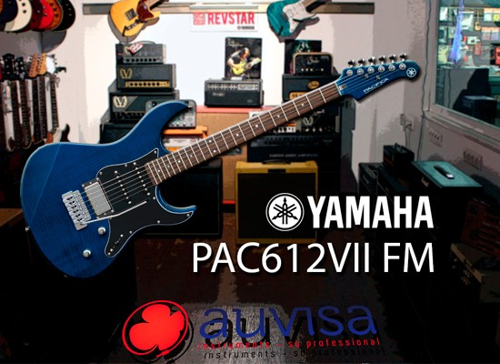 VIDEO: YAMAHA PACIFICA 612 VII FM