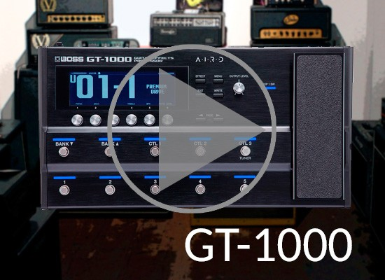 VÍDEO: BOSS GT1000