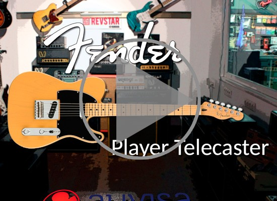 VÍDEO: GUITARRAS FENDER PLAYER TELECASTER