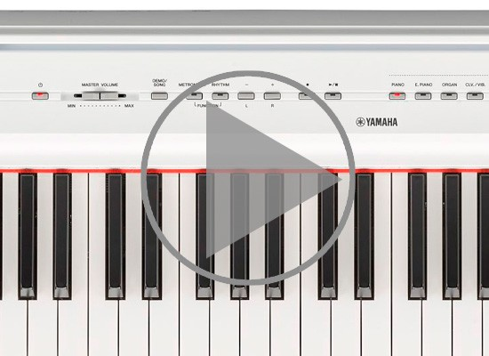 VÍDEO: PIANO YAMAHA P121