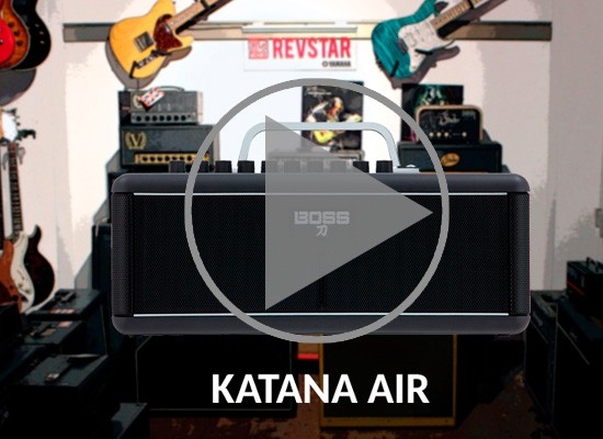 VÍDEO: AMPLIFICADOR BOSS KATANA AIR