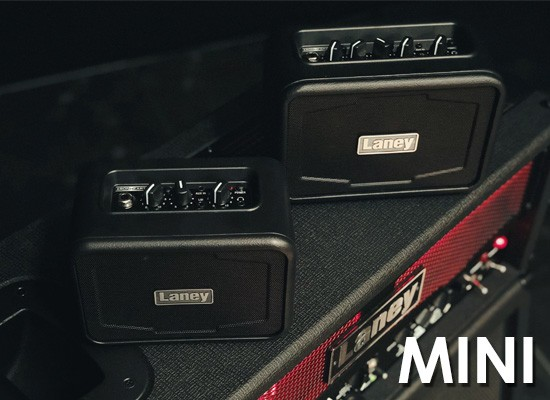 AMPLIFICADORES PORTÁTILES LANEY MINI