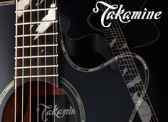 DISPONIBLE: GUITARRA ACÚSTICA TAKAMINE MOON LTD 2019