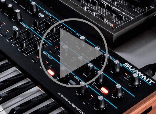 VÍDEO: SINTETIZADOR NOVATION SUMMIT