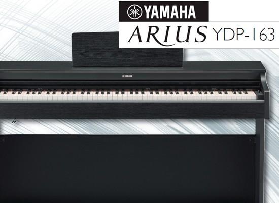 Nuevos pianos digitales yamaha arius ydp 163 for Yamaha arius 163