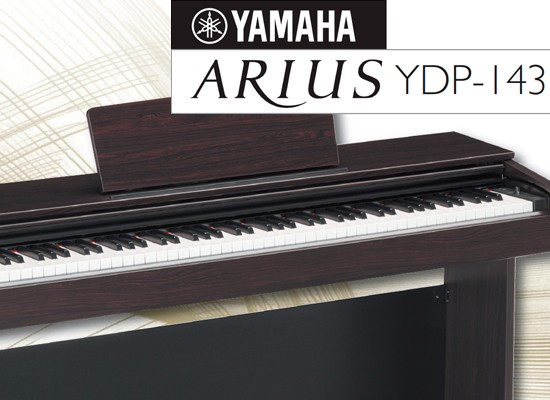 nuevos pianos digitales yamaha ydp 143r arius. Black Bedroom Furniture Sets. Home Design Ideas